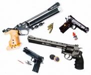 07 - Armes au Co2 et Billes Acier