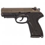 Pistolet à blanc  Mod. P4  Nickelé Chrome (Réplique) Bruni