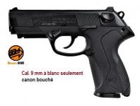 Pistolet de defense  Mod. P4  Bronze  Cal. 9mm