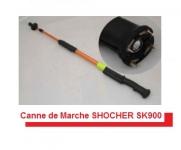 Canne de marche Ange Gardien SHOCKER  ELECTRIQUE 1 000 000 V  + Lampe
