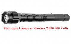 Shocker lampe Matraque électrique  2 000 000 Volts