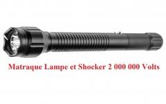 Shocker lampe Matraque électrique  2 000 000 Volts