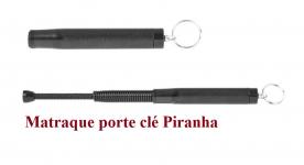 Matraque Telescopique porte clé   ( PIRANHA )  de 30 cm