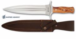 Couteau de chasse 36 cm  manche bois d'Olivier