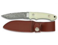 Couteau  DAMASCUS  lame de 8 cm