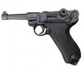 Pistolet  LUGER  P08  Parabellum Noir de 23 cm