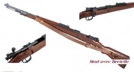 Réplique Fusil Mauser  K98  AVEC  bretelle