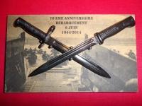 Panoplie DEBARQUEMENT  MAUSER  &  GARAND  20 cm