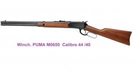 Winchester Puma M650  Cal. 44/40  Canon ROND (réplique )