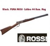 Winchester à Levier sous Garde ROSSI // Puma M650  Cal. 44 Rem. Mag