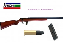 Carabine silencieuse M1400 TM   Cal. 22 Lr