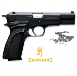 Pistolet à billes acier BB Browning HI POWER MARK III