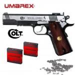 Pistolet à billes acier COLT  SPECIAL   COMBAT + 10 Capsules co2