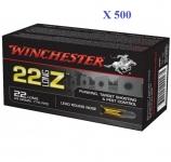 Cartouches 22Long Z Winchester  boite de 500