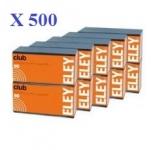 Cartouches 22LR ELEY  CLUB  X 500