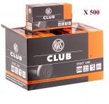Cartouches 22LR  RWS CLUB  X500