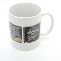Mug logo Harley antique