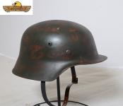 Casque Allemand  M1935  Vielli  (réplique)