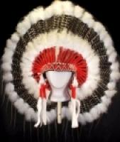 Coiffe indienne Navajo de 36 pouces  Made in USA ( Mod SPIRIT EAGLE )