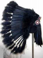 Coiffe indienne Navajo de 36 pouces  Made in USA ( Mod. BLACK MESA )