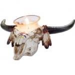 Bougeoir crane de bison