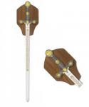 Epée d'ornement ALBA Argenté 74.5 cm