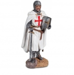 Statue TEMPLIER – Tenant son Heaume 26 cm