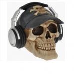 Crâne tête de mort CASQUE AUDIO