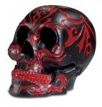Crâne tête de mort tribal