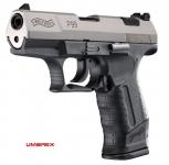 Pistolet  WALTHER  P99  Bicolor Chrome  15 coups (Réplique)