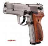 Pistolet  WALTHER  P88 Chrome Cross Bois (Réplique)