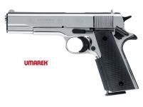 Pistolet Colt Governement  1911 A1 Nickelé Chrome (Réplique)