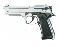 Pistolet BERETTA  Nickelé Chrome Mod 92 (Réplique)