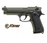 Pistolet BERETTA  GREEN à blanc  Mod 92  (réplique)