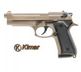 Pistolet BERETTA  TAN à blanc  Mod 92 (réplique)