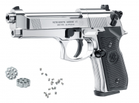 Pistolet à plombs Beretta M92 FS  NICKELE