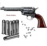 Revolver  COLT  S.A.A45  Finition Antique