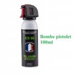 Bombe Anti-Agression GEL CS80  100 ml