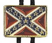 Bolotie motif drapeau rebel