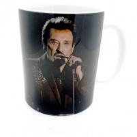 Mug Johnny au micro