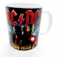 Mug ACDC pour Iron Man