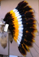 Coiffe indienne Navajo de guerre de 36 pouces  Made in USA  ( Mod. WINDSONG TRADITIONAL )