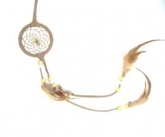 Dreamcatcher (attrape rêve) beige
