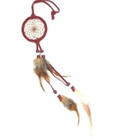 Dreamcatcher (attrape rêve) rouge