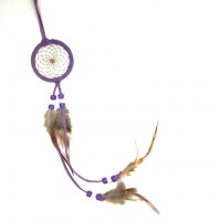 Dreamcatcher (attrape rêve) violet