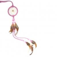 Dreamcatcher (attrape rêve) rose