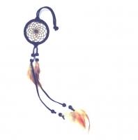 Dreamcatcher (attrape rêve) bleu