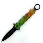 Couteau Pliant decor canabis   Lame de 10 cm