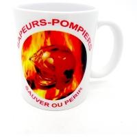 Mug Sauver ou perir Flammes