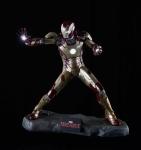 Statue Iron Man 3 Taille 52 cm  Statuette Marvel Comics